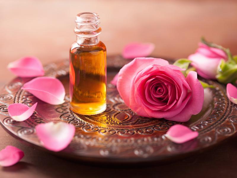 Rose-Parfum