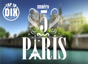 Top 5 Paris – Ville capitale à partir de 187 €