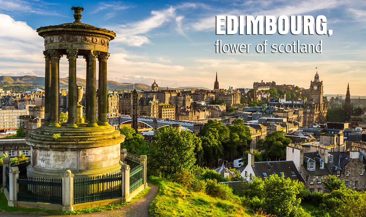 Edimbourg, Flower of Scotland