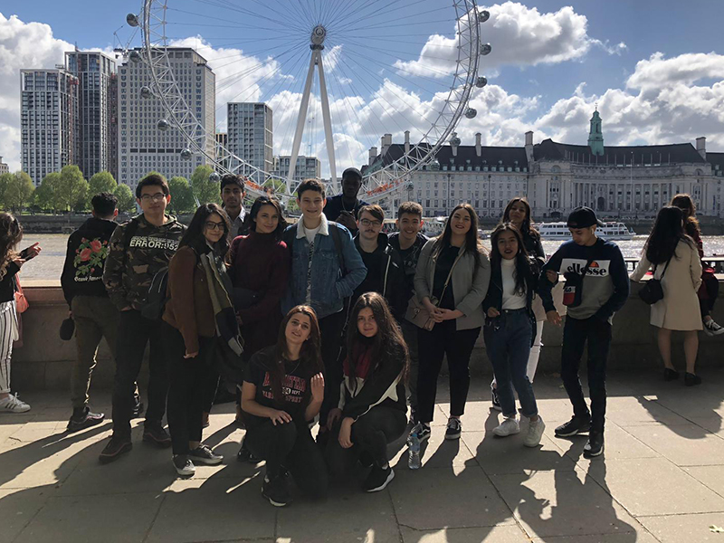 UN SÉJOUR À LONDRES